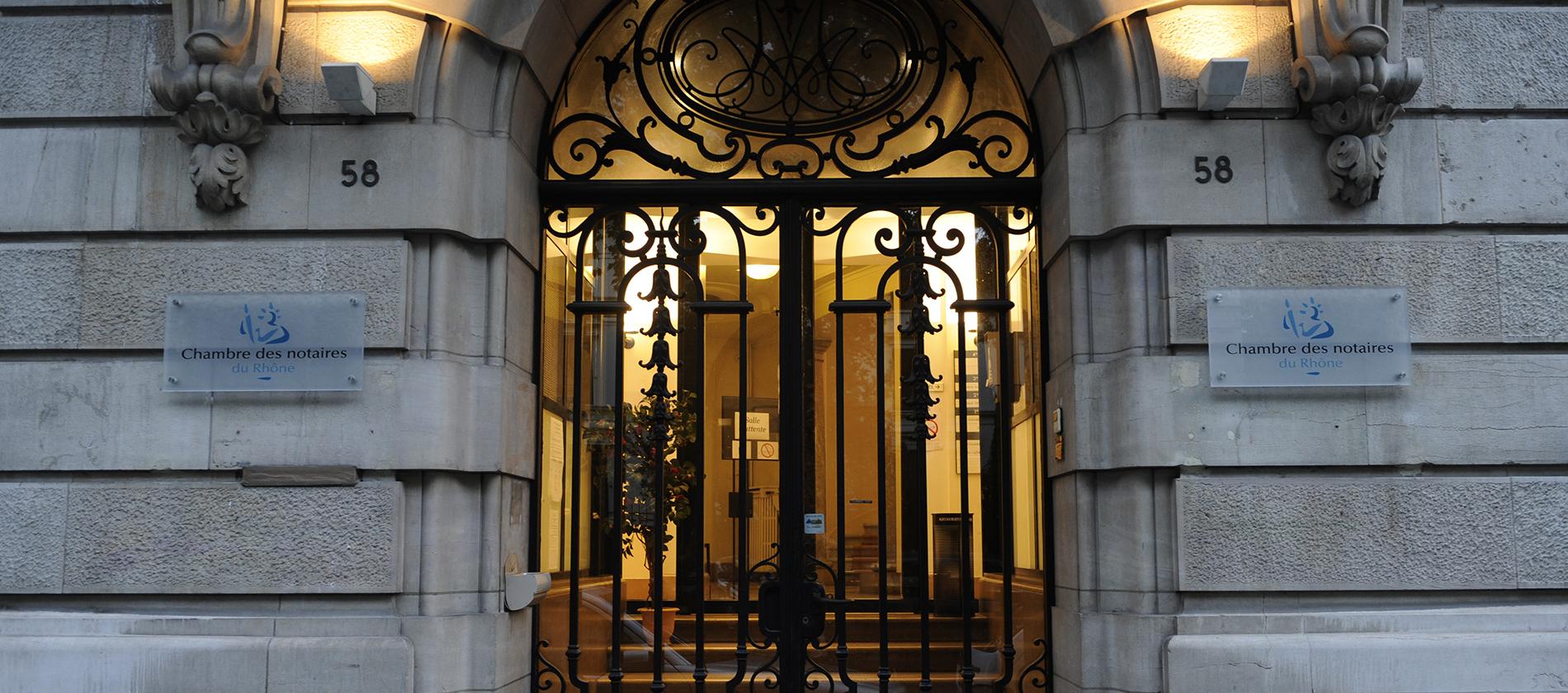 Chambre des Notaires du Rhône